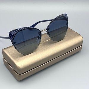 NEW BULGARI BV6096 Blue Shaded Women's Sunglasses